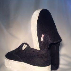 Superga Slip-On Platform Sneakers